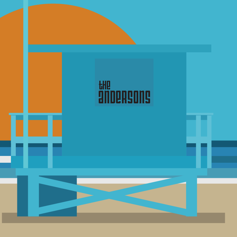 Custom Lifeguard Tower Graphic Print