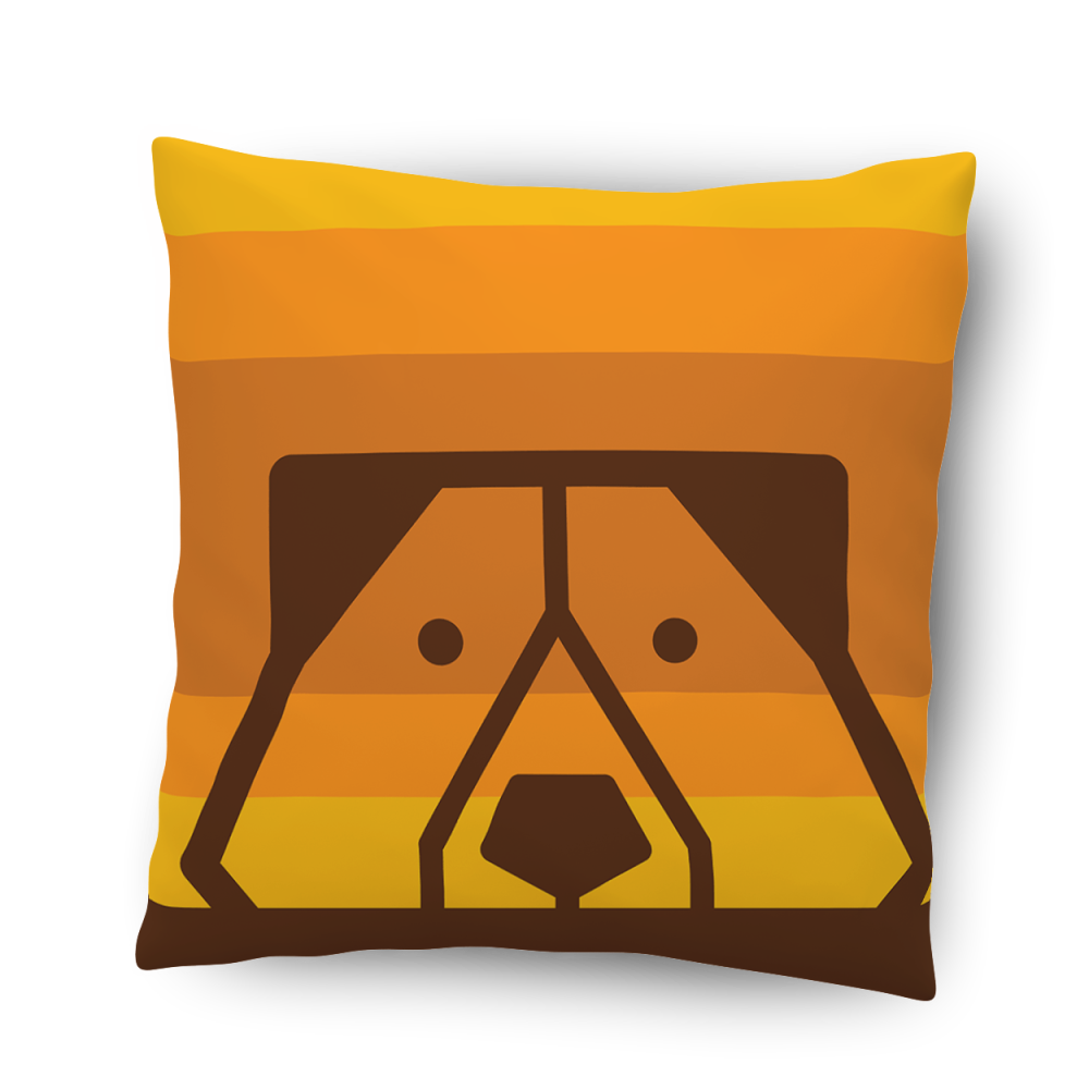 PeekaBear pillow