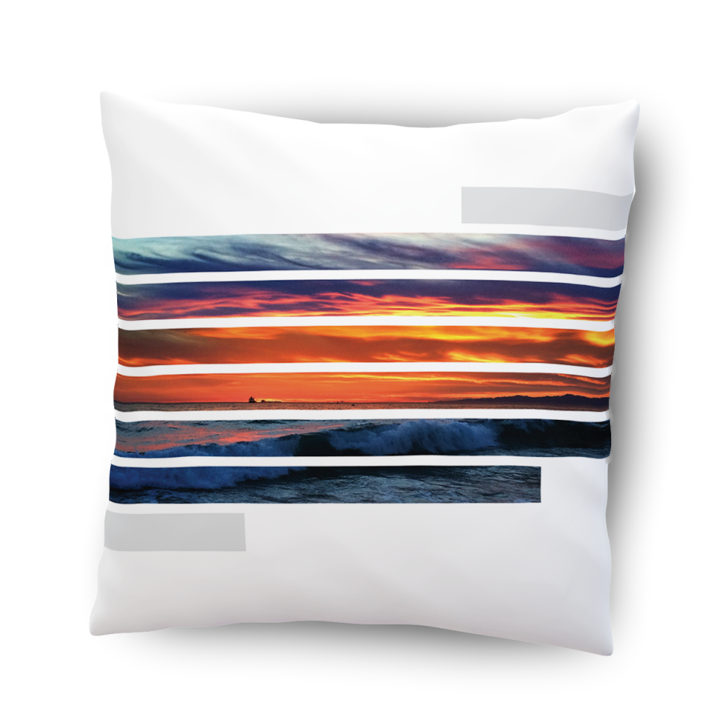 Sunstripes pillow