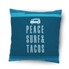 Peace Surf & Tacos Pillow