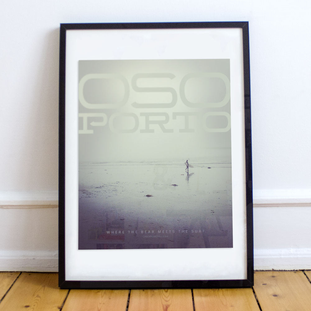 Fog Surf art poster