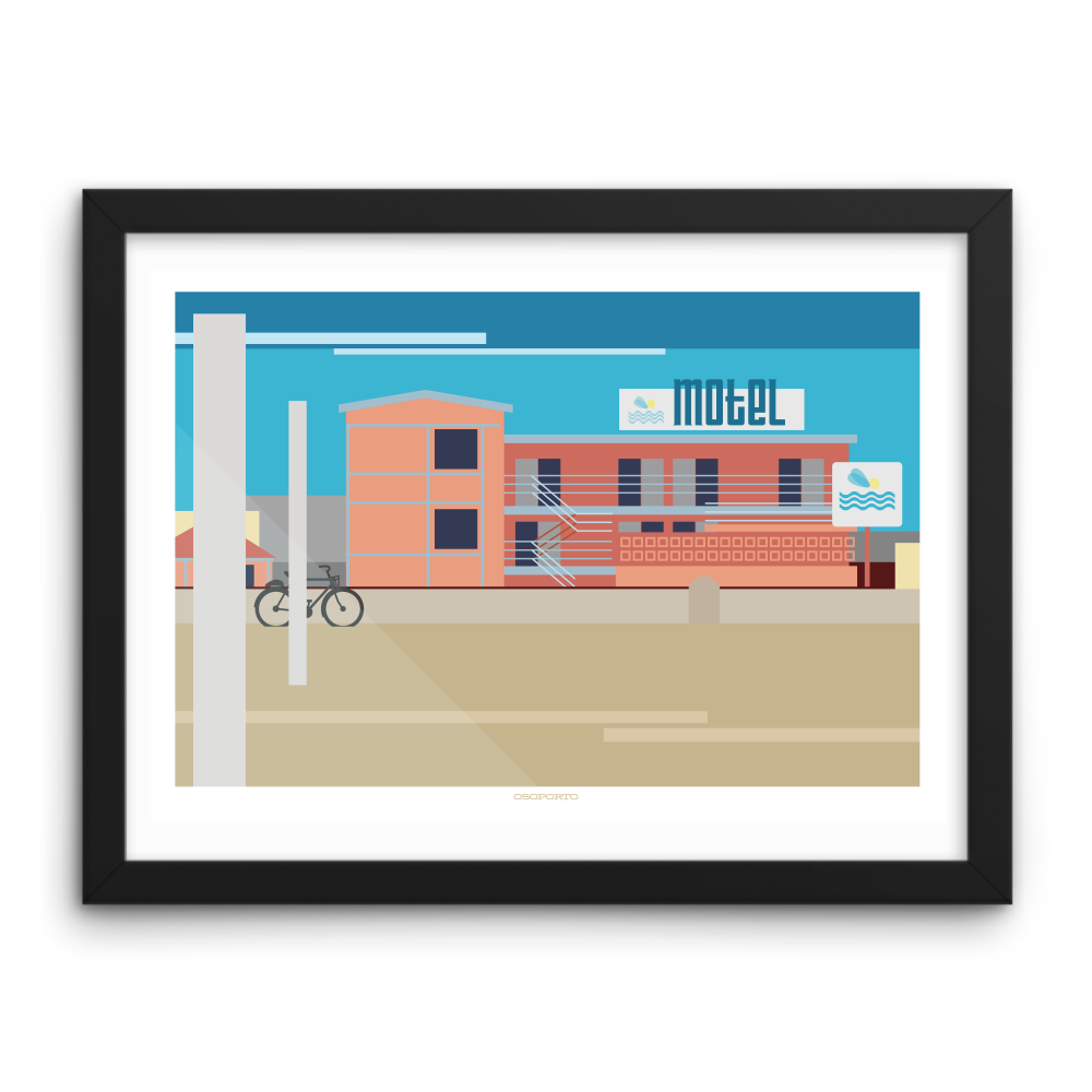 Hermosa Beach: Sea Sprite Graphic Print