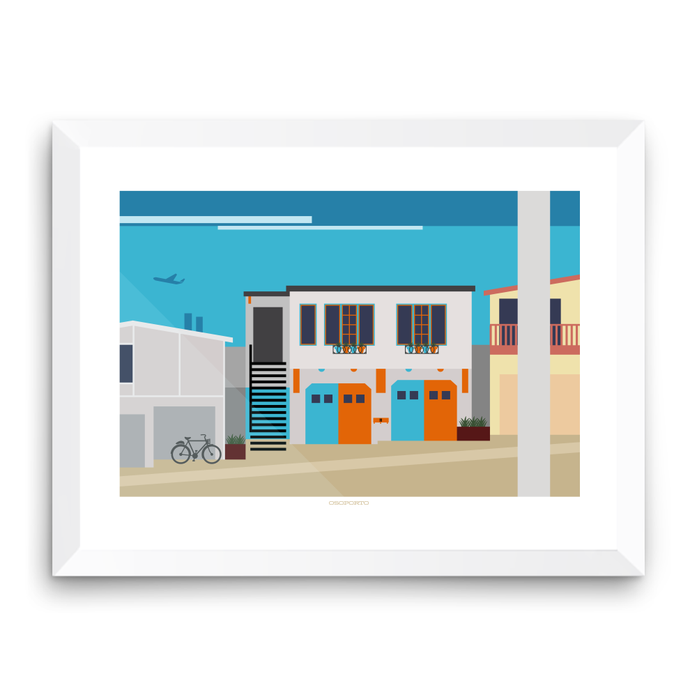Manhattan Beach: Rosecrans Graphic Print