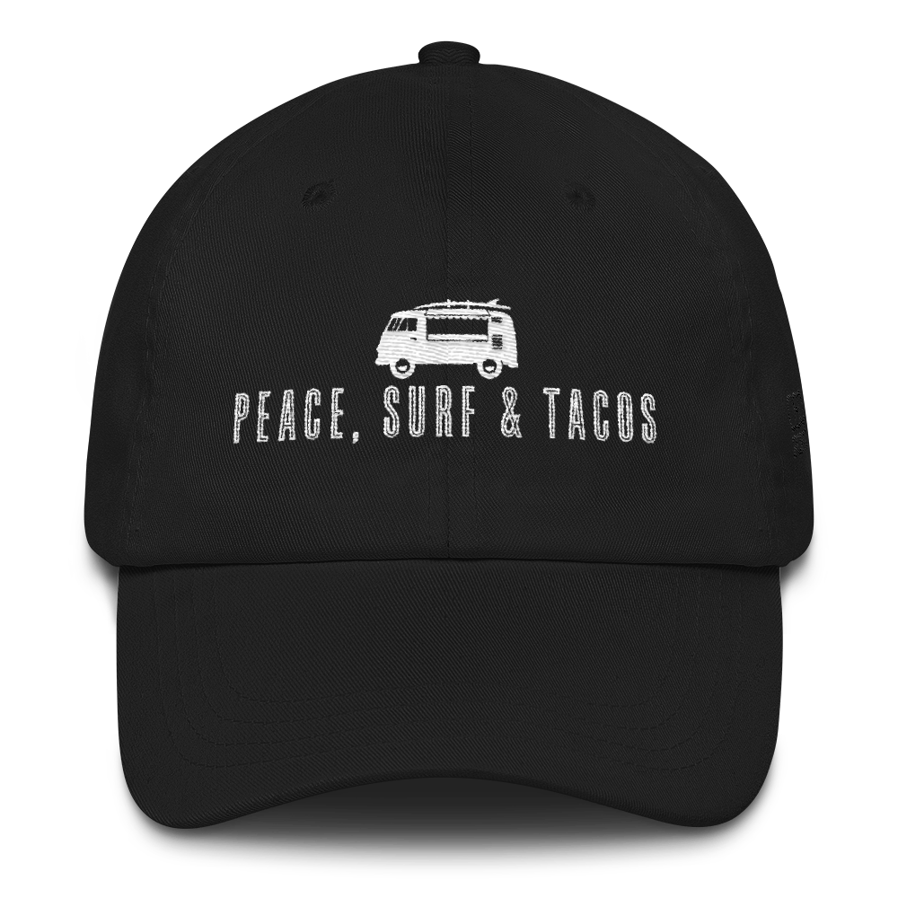 Peace Surf & Tacos Dad Hat