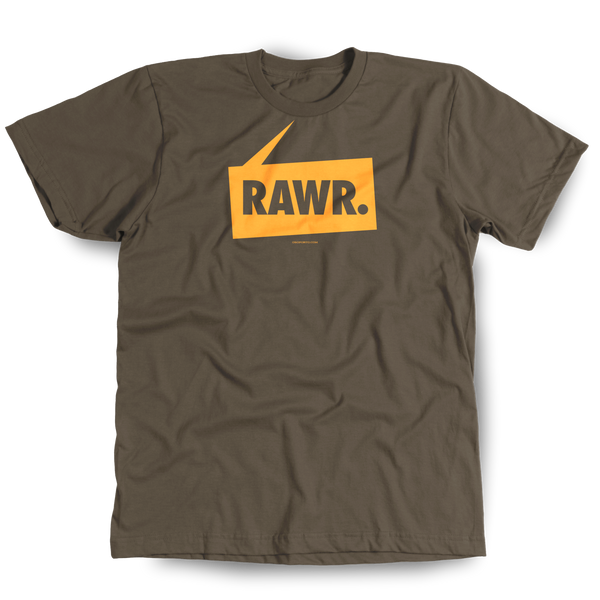 RAWR bears t-shirt roar grrr woof and dinosaurs too!
