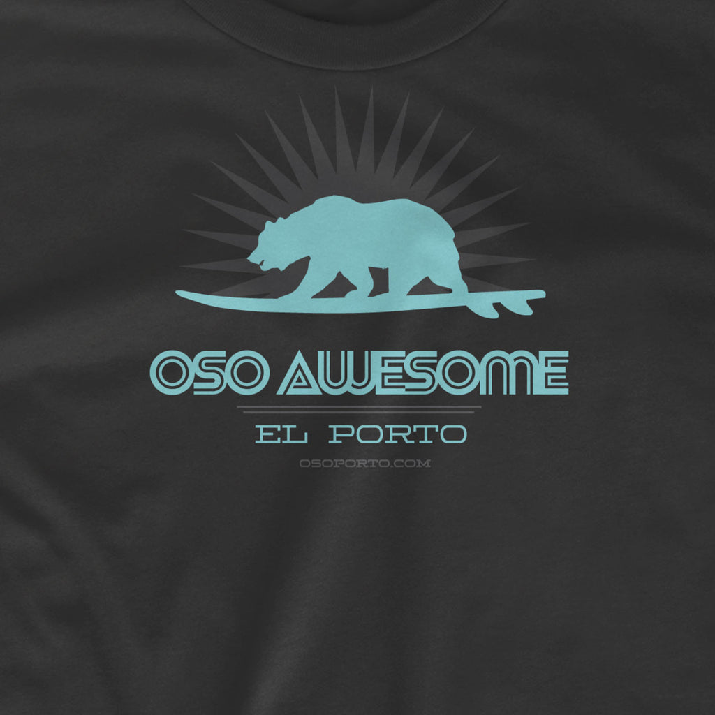 California Surf Bear Oso Awesome t-shirt