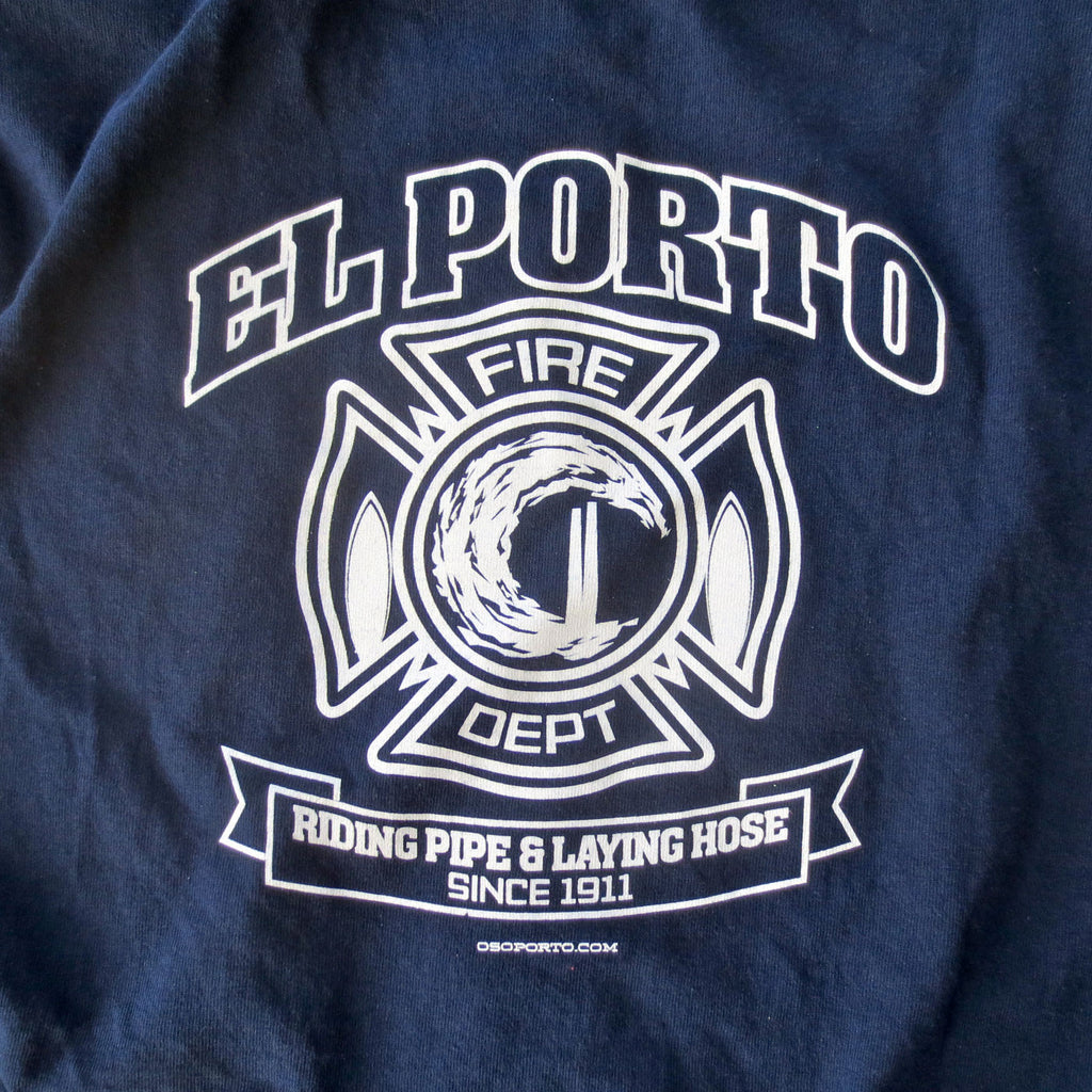 El Porto Manhattan Beach California Fire Dept t-shirt