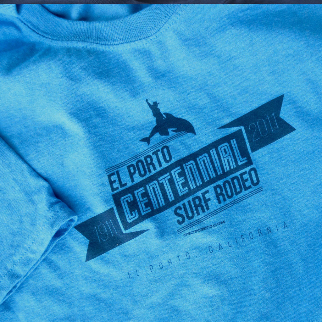El Porto California Centennial Surf Rodeo t-shirt