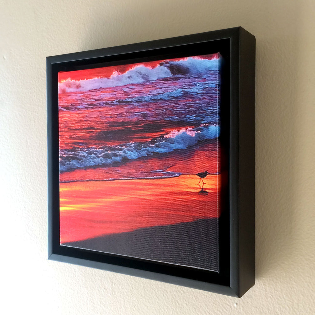 home decor framed beach print: Edge of Sunset