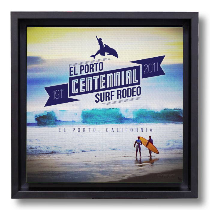 Surf Rodeo canvasbox