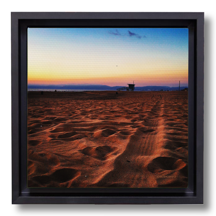Painted Horizon canvasbox