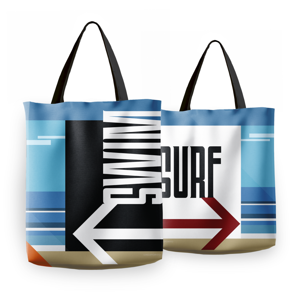 Swim or Surf Tote Bag