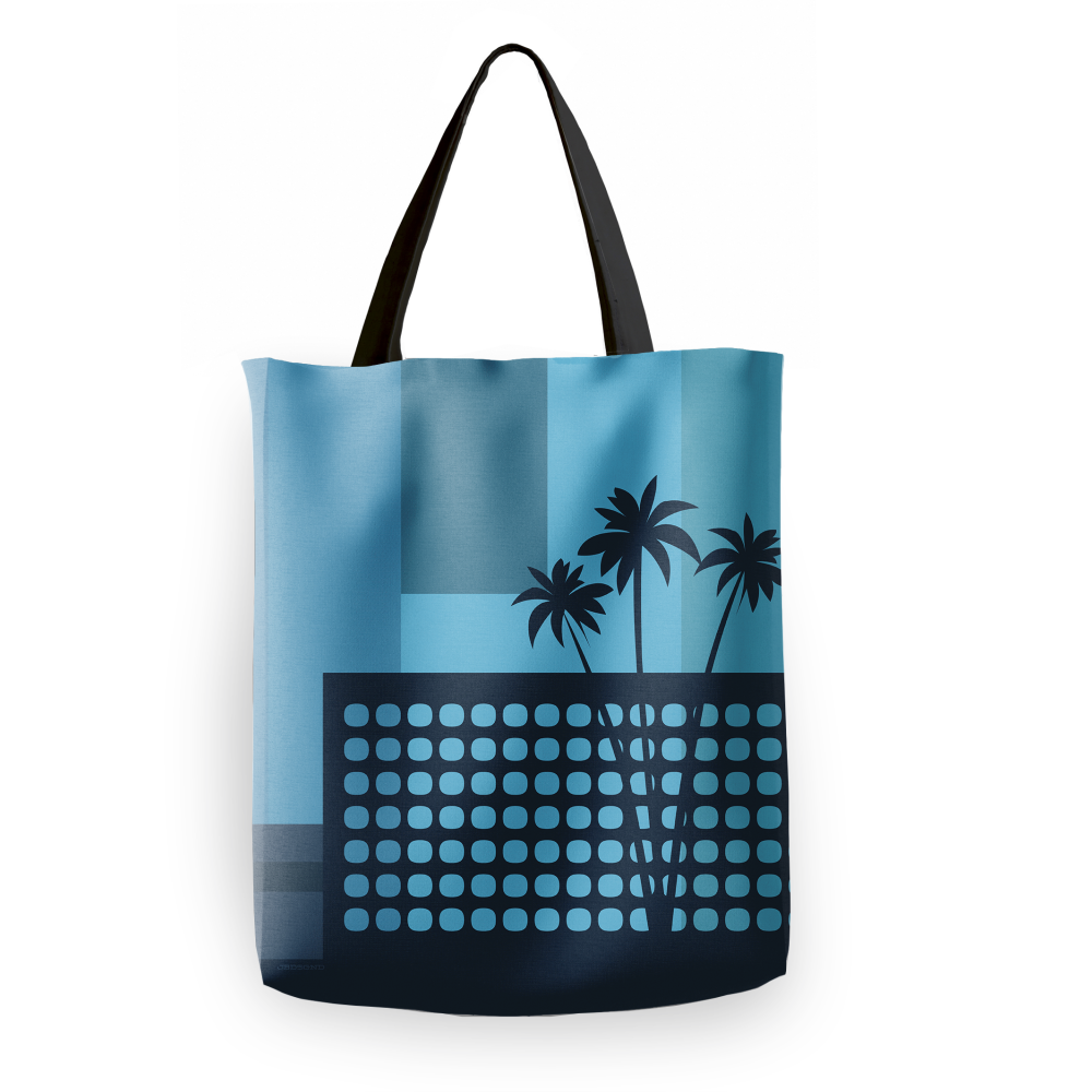 JBDSGND | LAX Palms Tote Bag