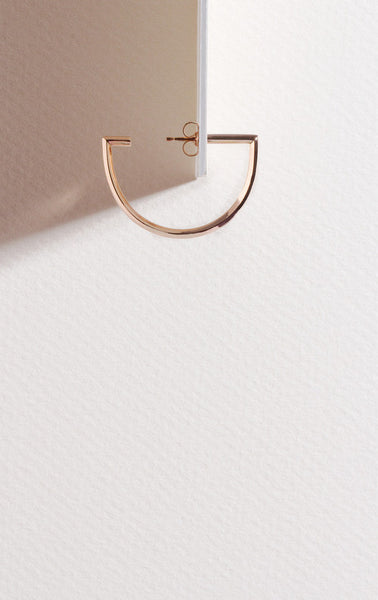 Mini Septum Hoops - Rose Gold