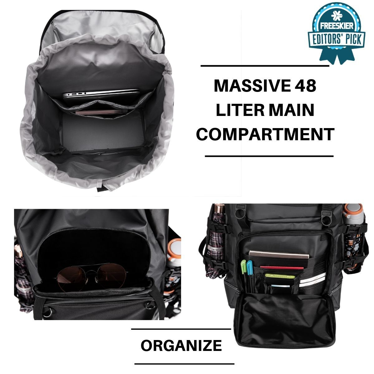 2020 Zipline World Cup Backpack Ski Accessories ZiplineSki