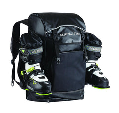 2020 Zipline World Cup Backpack Ski Accessories ZiplineSki Black Matte
