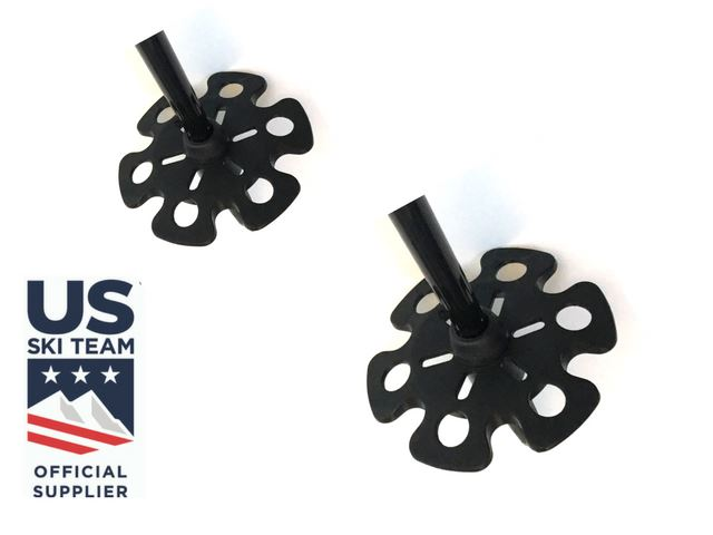 Replacement Powder Baskets - Pair Ski Poles ZiplineSki