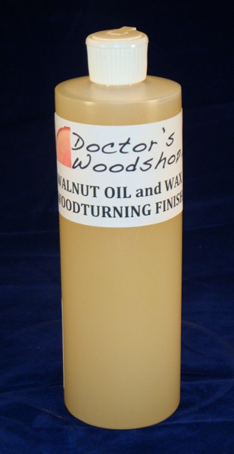 Walnut Oil & Wax Woodturning Finish.