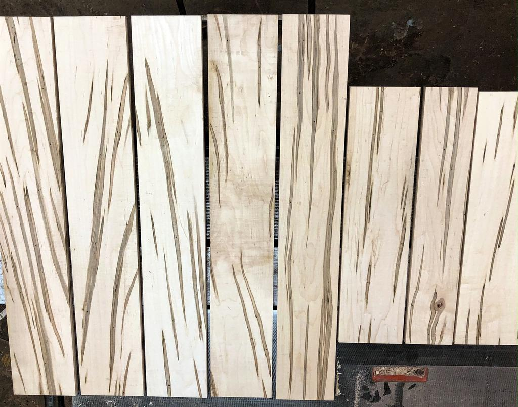 10 Square feet of Ambrosia Maple in 2 - 3  foot lengths