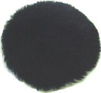 "BLACKLAMB- TUFBUF- 5"" natural shearling buffing pads."