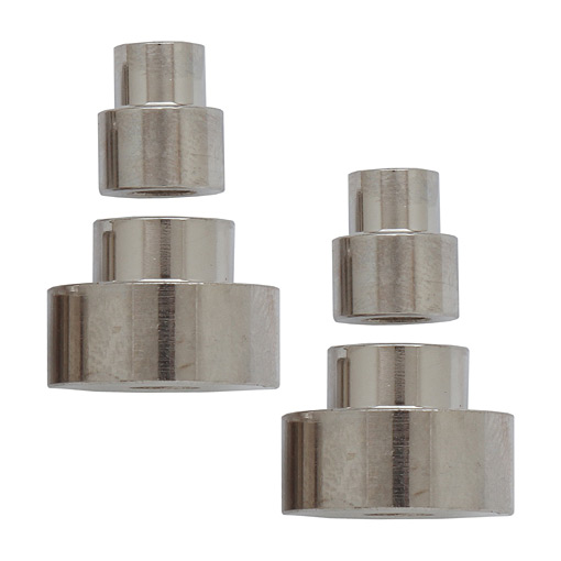 4pc Bushing One Handed Press Top Salt/Peppermill
