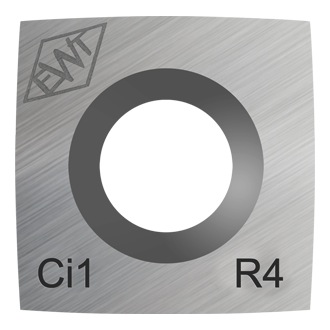 "Ci1-R4-4"""" Radius Replacement-Carbide Cutter"