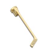 24K HOCKEY CLIP W/LONG END CAP