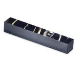 Acrylic acetate Pen Blank-Translucent Deep Blue and Bronze