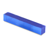 Acrylic Acetate Pen Blank-Blue with shades of pearlized blue