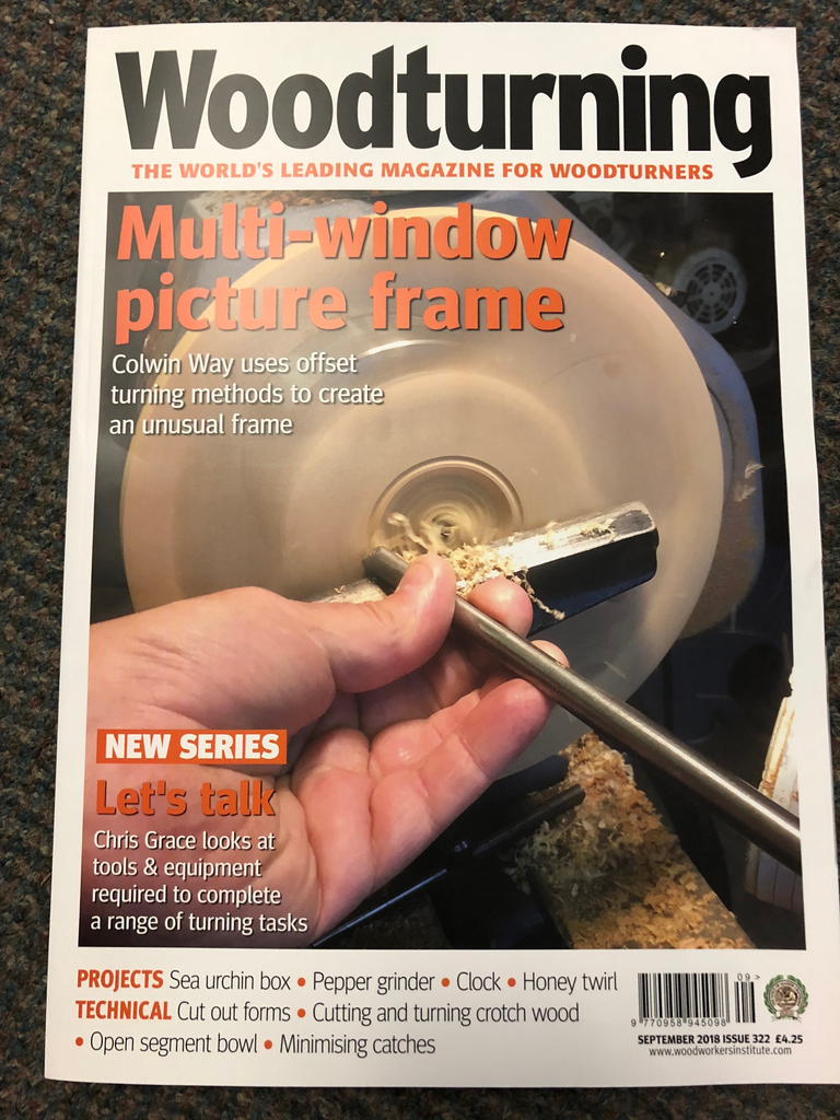 Woodturning Mag September 2018 #322
