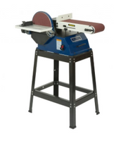 "Rikon-50-122 Belt & Disk Sander 6"" x 48"" w/10""disk  1HP 2510 RPM optional leg set for grinder 52-910"