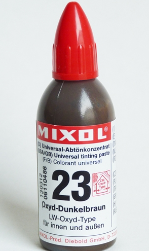 DARK BROWN--Mixol Universal Tinting Paste  20ml