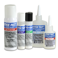 Stick fast CA Wood Finishing Kit: Starter Kit