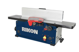 "Rikon 6"" Bench Top Jointer with Helical style cutterhead."