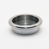 Chrome Brush Cup, internal size is 21mm, knot should be 20mm