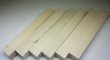 American white Holly pen blank 3/4 x 3/4 x 5""