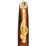 Musical G-Clef Pen Clip