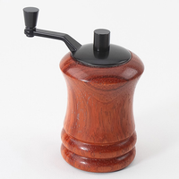 Mini Tabletop Salt/Pepermill - Black Enamel