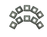 Rikon-25-599 Carbidge 4 Edge Helical inserts (10)  for 23-400H, 500H, 210H, 010H