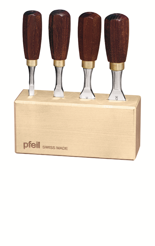 4 Piece Butt Chisel Set