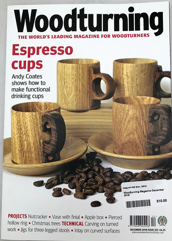 Woodturning Magazine December 2018 #325