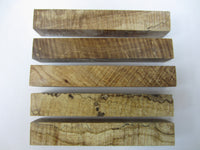 Stabilized Curly Maple Pen Blanks #12