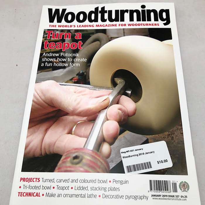 Woodturning Magazine January 2019 #327