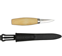 Mora Wood Carving Knife — 120  6 mm length with plastic sheath