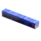 Acrylic acetate Pen Blank-Pearlized swirls of bronze, violet and blue