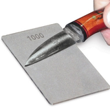 1000 and 600 grit Diamond credit card 1/6thick sharpener