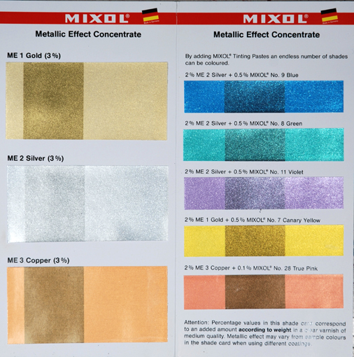 Silver Effect - 20g-Mixol Metallic Effect Concentrates