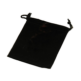"4""""x5""""Drawstrng Pouch (Black)"