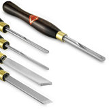 Hamlet- 5 piece Set of Small Turning Tools