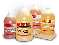 SYSTEM THREE EPOXY1.5qt.WITH #2 MED HARDENER -30 MIN WORK TIME.